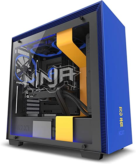 Enhanced Cable ATX Mid-Tower PC Gaming Case NZXT H700 Tempered Glass Panel