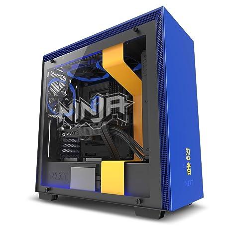 NZXT H700i - Caja PC Gaming de tamaño mediano ATX - Dispositivo inteligente con tecnología CAM - Control de RGB y ventilador - Panel de vidrio ...