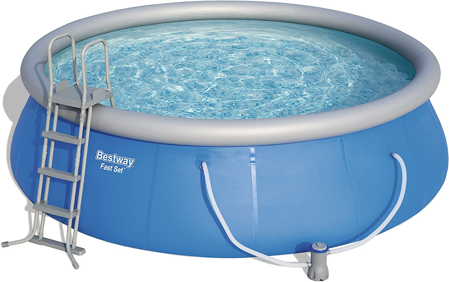 Bestway 57289 Piscina Fast Set, Multicolor, M: Amazon.es: Deportes y aire libre