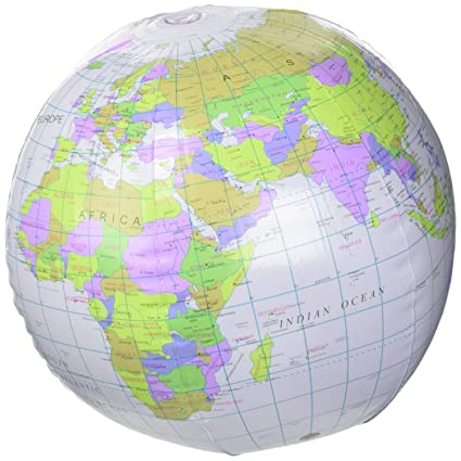 inflatable globe blow up globe world map atlas ball earth map blow up ball 40cm by