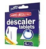 Keep-It Handy Descaler Tablets All Purpose Pack of 4 x 20g Tablets (Packaging May Vary)