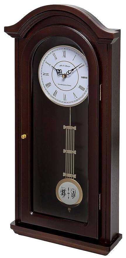 Fox and Simpson Orologio a pendolo in legno di noce, linea: Burnley ...