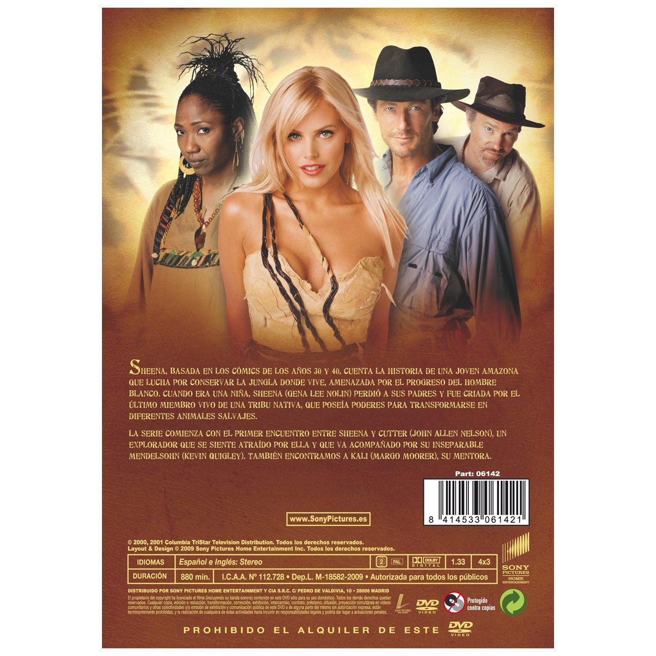 Amazon com: Sheena (Series 1) - 4-DVD Box Set ( Sheena - Series One