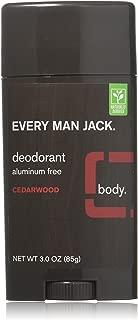 product image for Every Man Jack Deodorant 3oz Cedarwood (2 Pack)