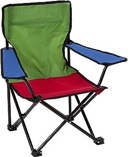 "W x Hx D Kids/' Camping Chair /"" Crivit/"" 32 x 48 x 32 max 50 kg Blue or Cream"