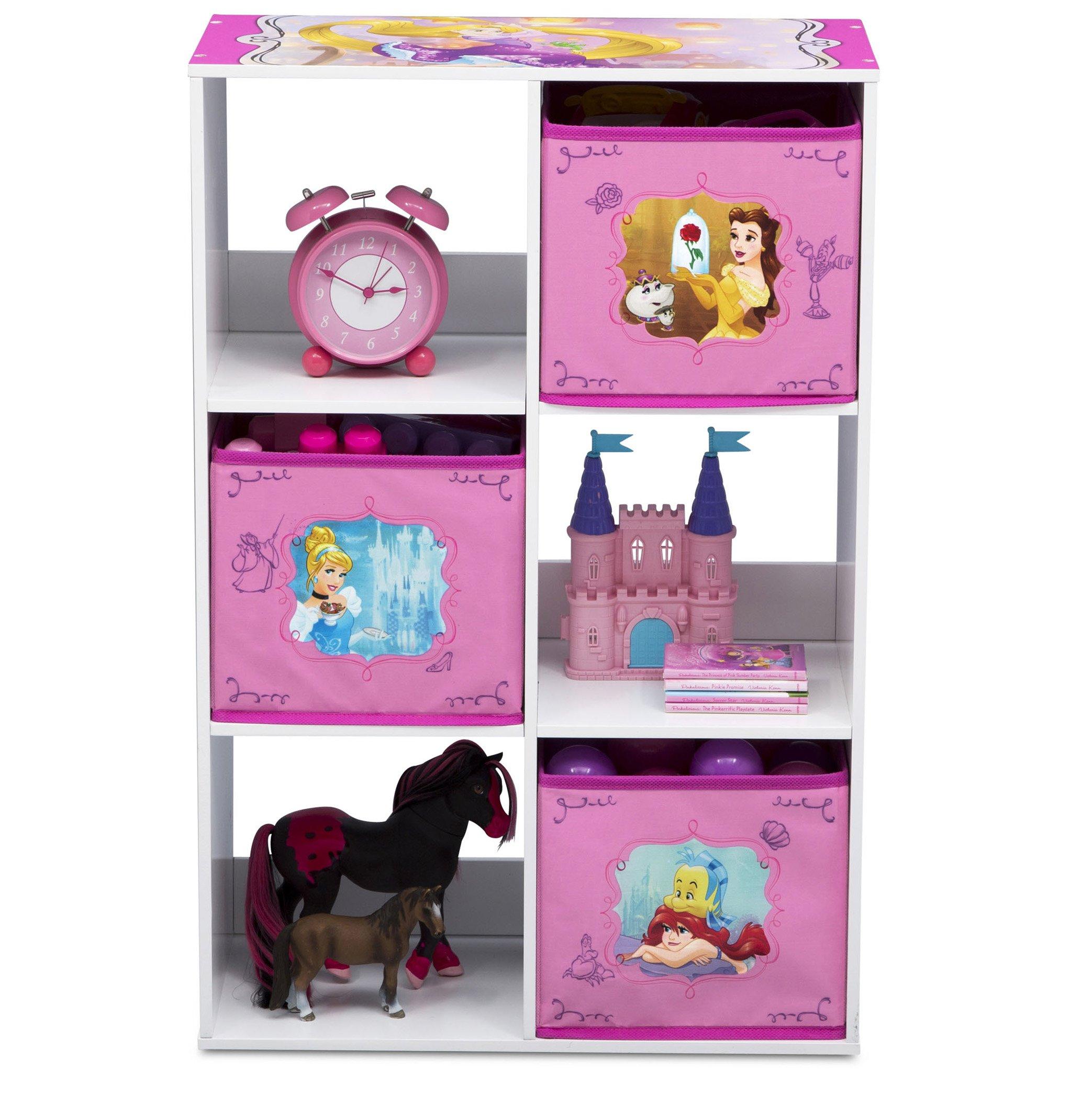Delta Children 6 Cubby Storage Unit, Disney Princess by Delta Children (Image #5)