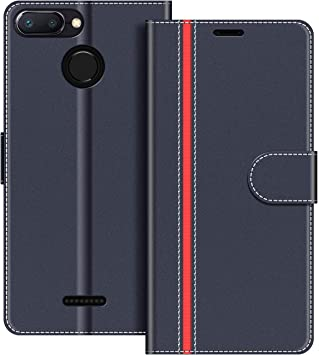 COODIO Funda Xiaomi Redmi 6 con Tapa, Funda Movil Xiaomi Redmi 6A ...