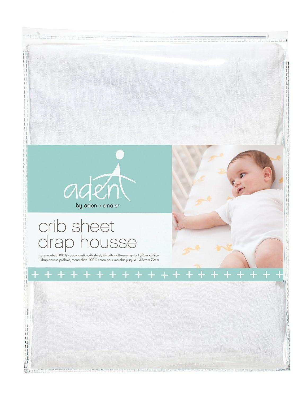 aden + anais Crib Sheet, Dove F815