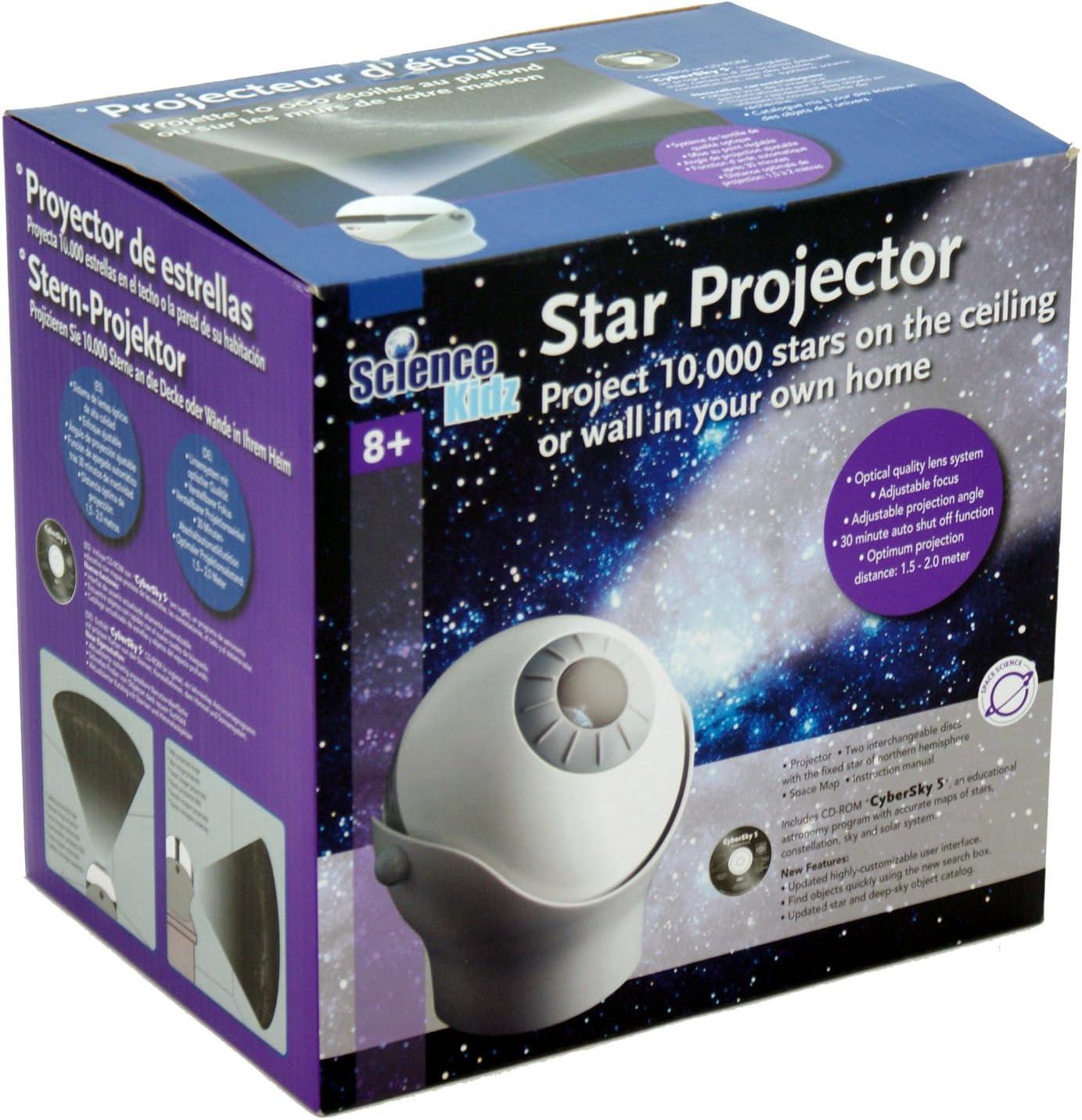 Science Kidz - Proyector de Estrellas - 10 000 Estrellas: Amazon ...