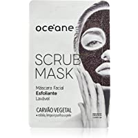 Máscara Facial Esfoliante, Scrub Mask, Océane, Océane, Carvão
