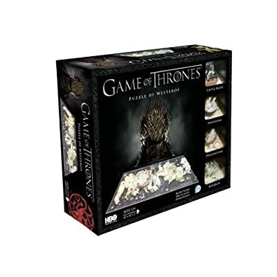 4D Cityscape Game of Thrones: Westeros Puzzle: Toys & Games