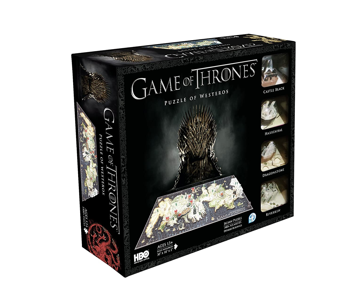 4D Cityscape Game of Thrones: Westeros Puzzle 4D Cityscape Inc 4D 51000