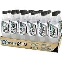 100 Plus Zero Isotonic Drink Pet, 500ml (Pack of 24)