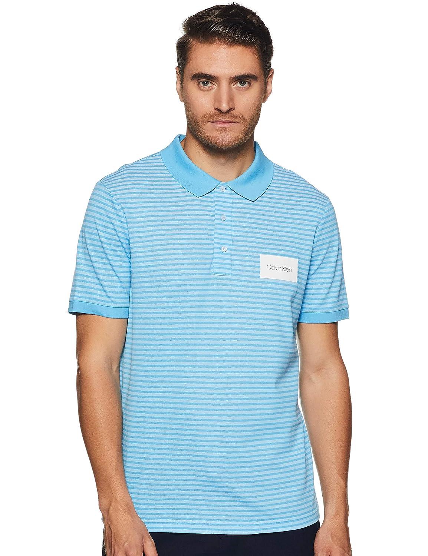 Calvin Klein K10K103364 Polo Hombre Celeste L: Amazon.es: Ropa y ...