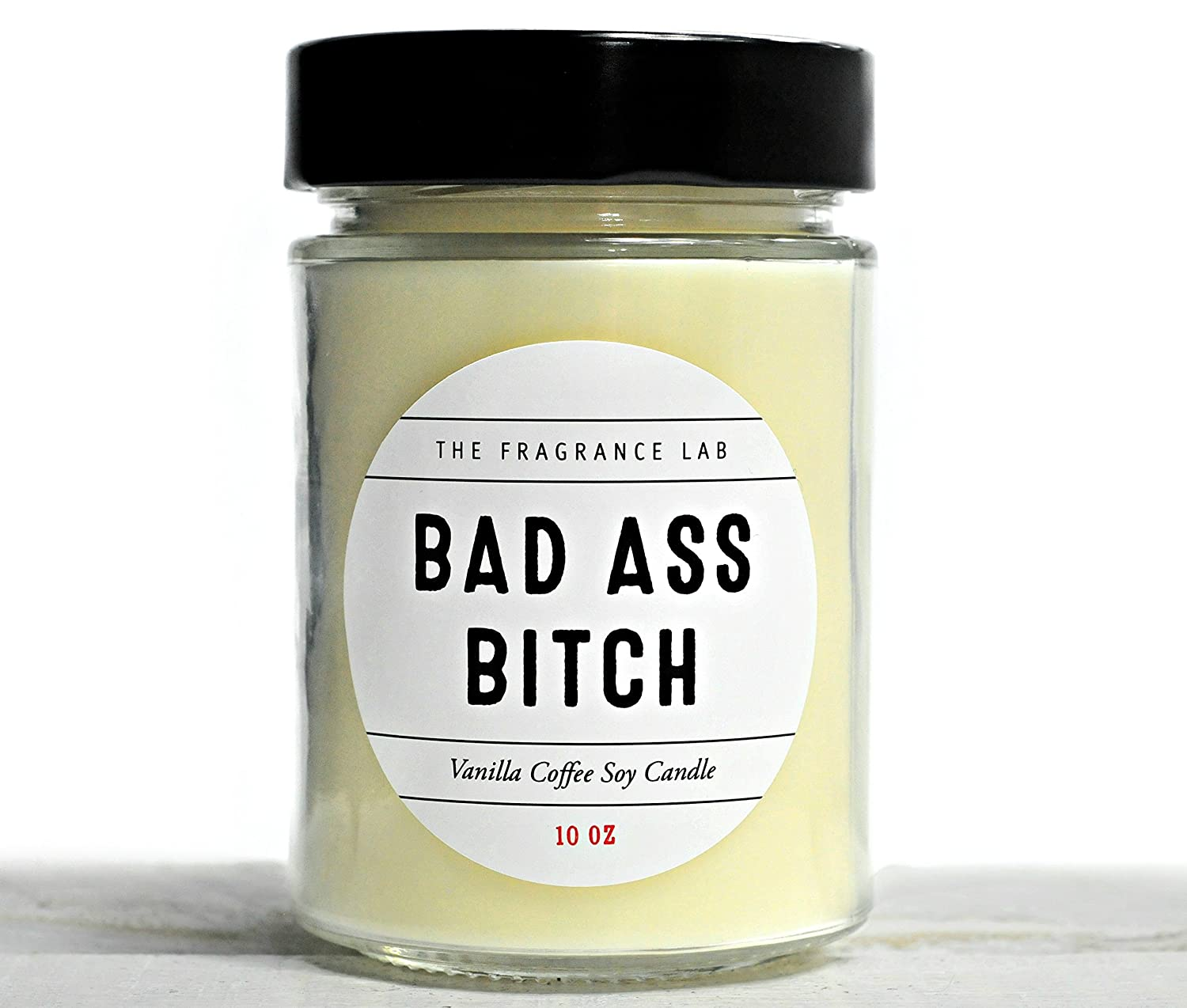 Soy Candles -Bad Ass Bee Vanilla Coffee Scented | The Fragrance Lab