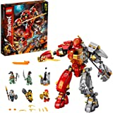 LEGO Ninjago 71720 Fire Stone Mech Building Kit (968 Pieces)