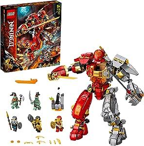 LEGO® NINJAGO® Vuursteen robot 71720 ninjamecha bouwset met LEGO ninjamecha (968 onderdelen)