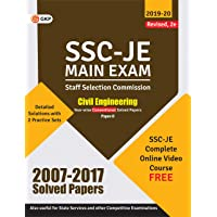 SSC 2020 : Junior Engineer - Civil Engineering Paper II - Conventional Solved Papers (2007-2017)
