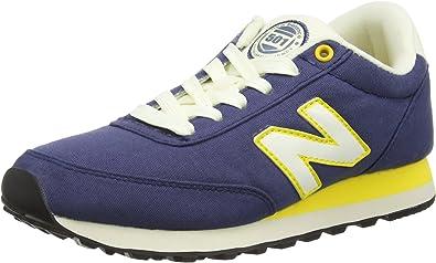 Continuamente puerta traición  New Balance ML501BFR - Zapatillas Unisex, Color Azul/Amarillo, Talla 44:  Amazon.es: Zapatos y complementos