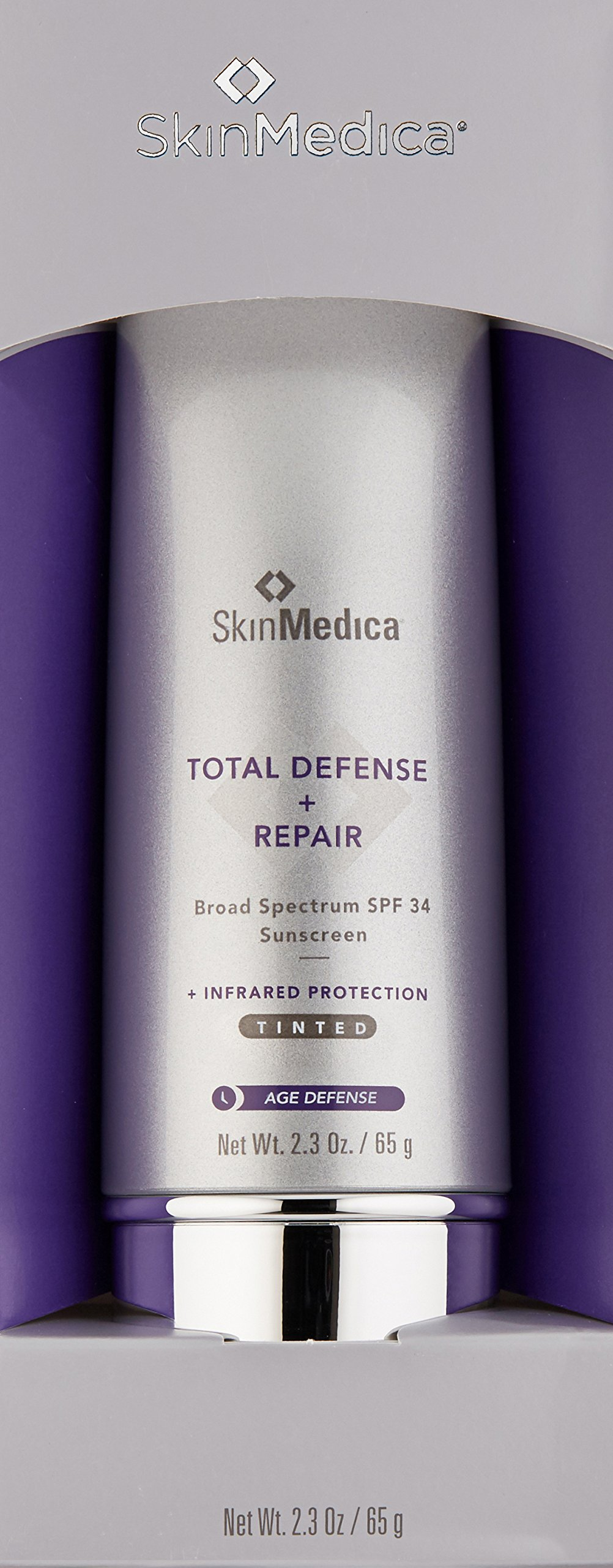 SkinMedica Total Defense Plus Repair SPF 34 Sunscreen Tinted, 2.3 oz. by SkinMedica (Image #3)