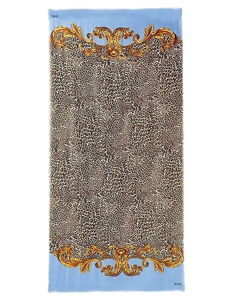 Liu Jo A19275 T0300 Sciarpe Donna Celeste TU  MainApps  Amazon.it   Abbigliamento f022f1cd0be