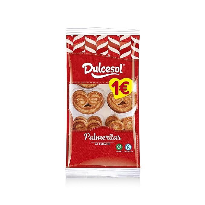Dulcesol Palmeritas 20 unidades 225 gr: Amazon.es ...