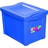 Organizador Plástico Colors Ordene Br Azul Médio