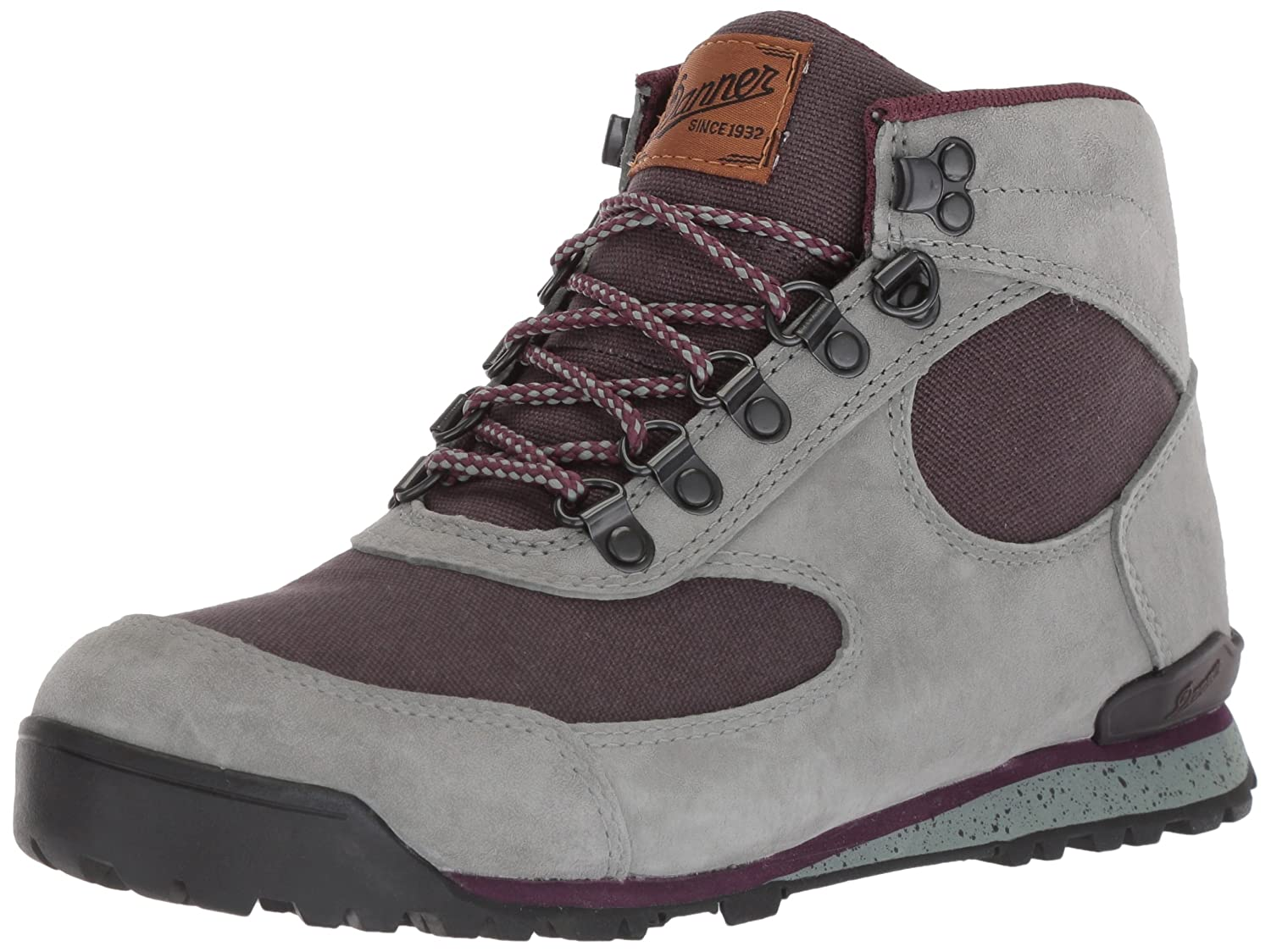 Danner Women's Jag-W's Fashion Boot B071ZZSRQ9 9.5 B(M) US|Dusty/Aubergine