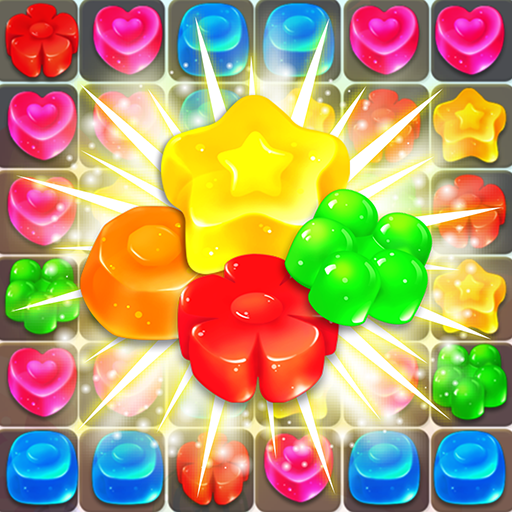 Jelly Crush - connect 3 or more to make link match-3 jelly friends and go blasting star! ()