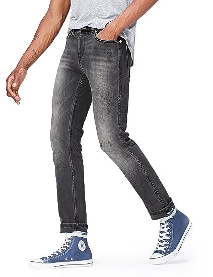 Marca Amazon - find. Pantalones Vaqueros Delgados Hombre