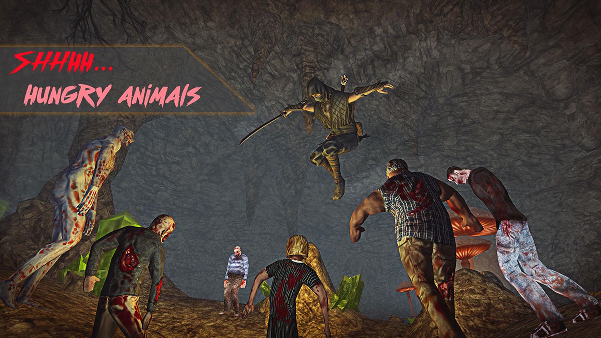 Dead Mines Rush: Scary Horror Legendary Ninja Fight: Amazon ...