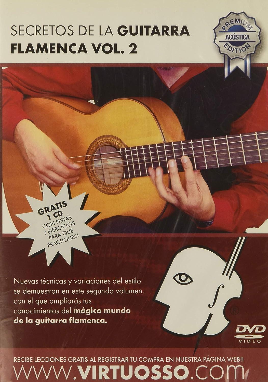 virtuosso Flamenco Guitar Method Vol. 2 (curso de guitarra flamenca Vol. 2) español sólo: Amazon.es: Instrumentos musicales