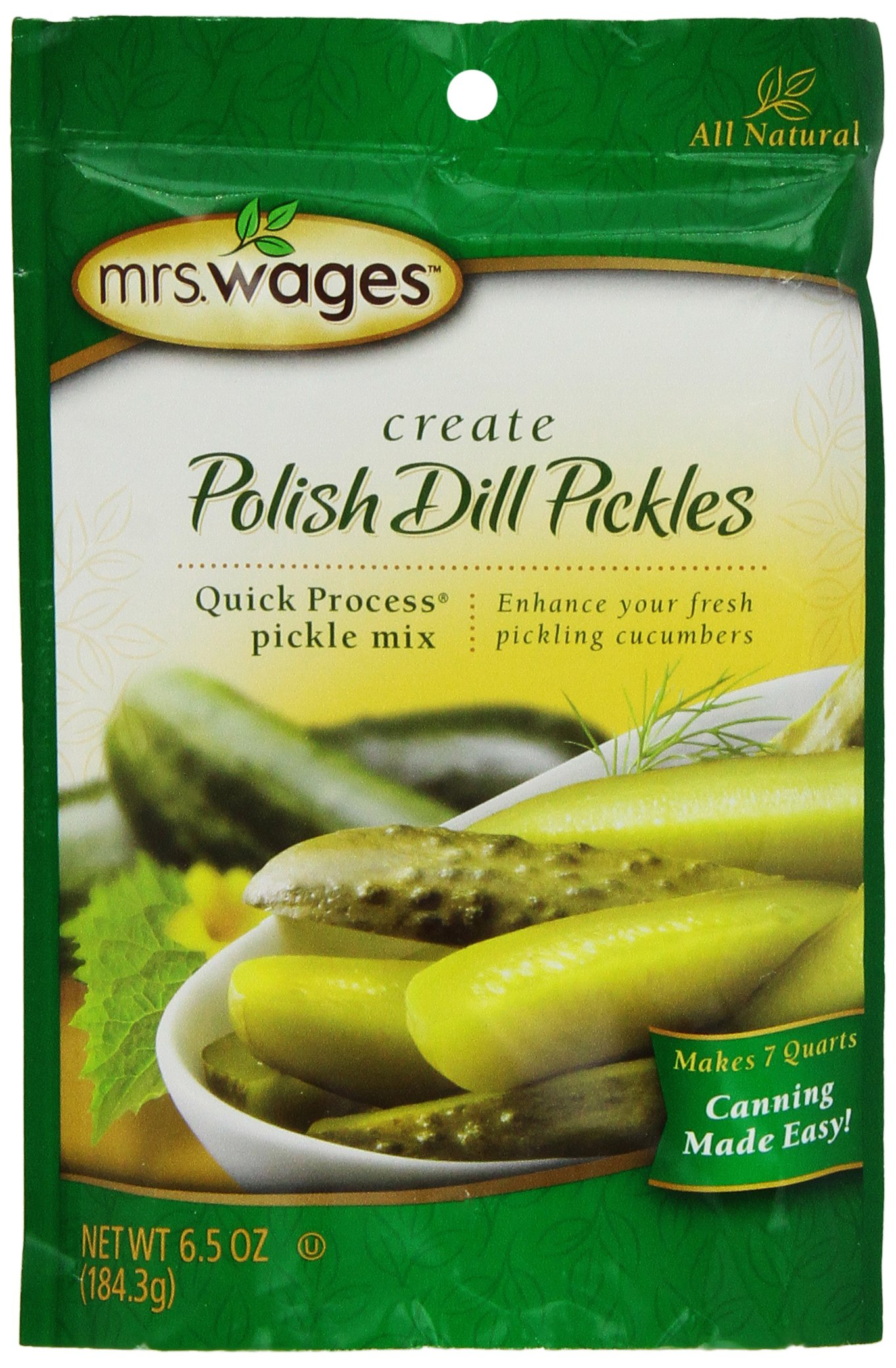 Mrs. Wages Polish Dill, 6.50-Ounce Packets (Pack of 6)