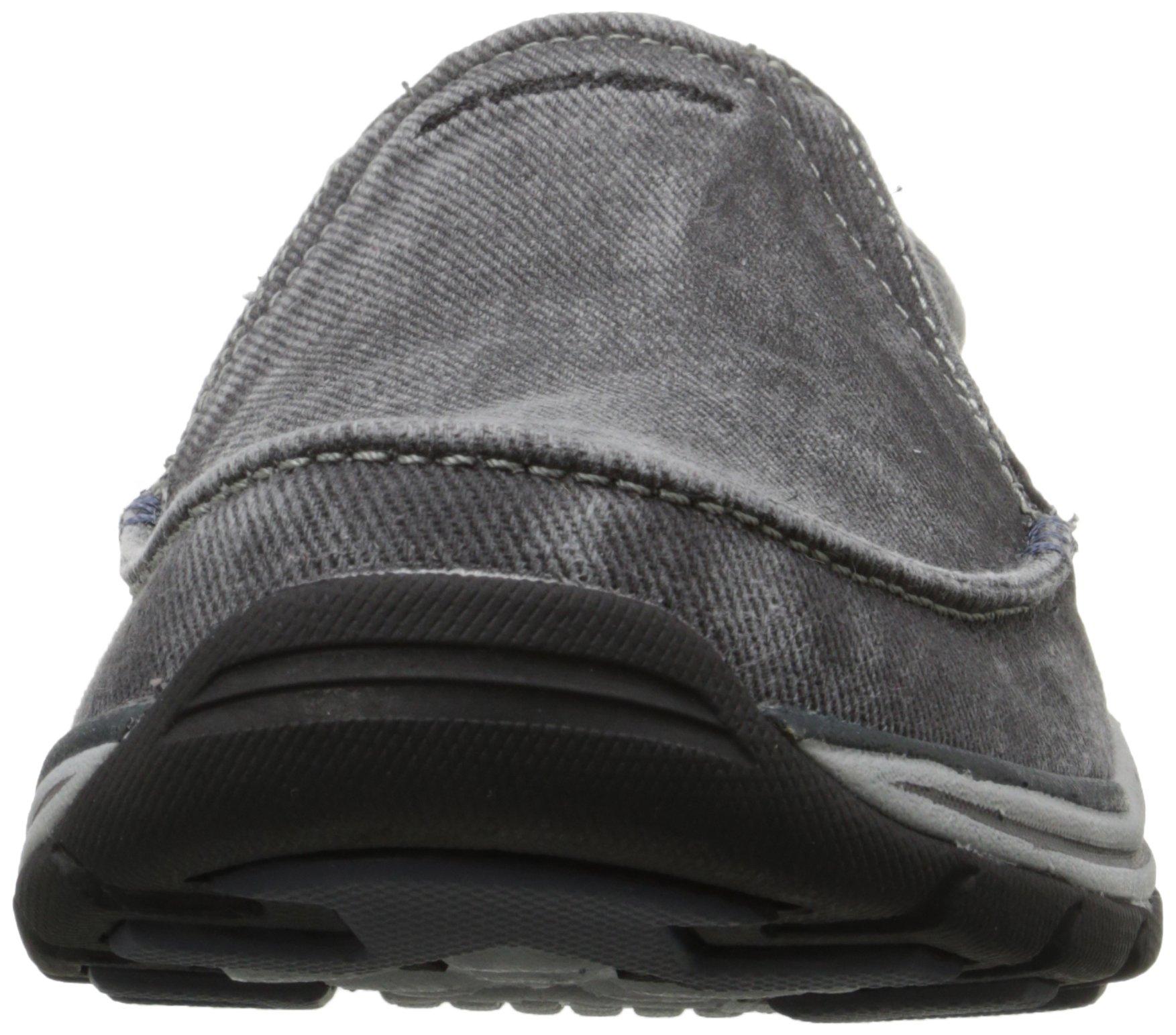 Skechers Men's Expected Avillo Relaxed-Fit Slip-On Loafer,Black,13 M US by Skechers (Image #4)