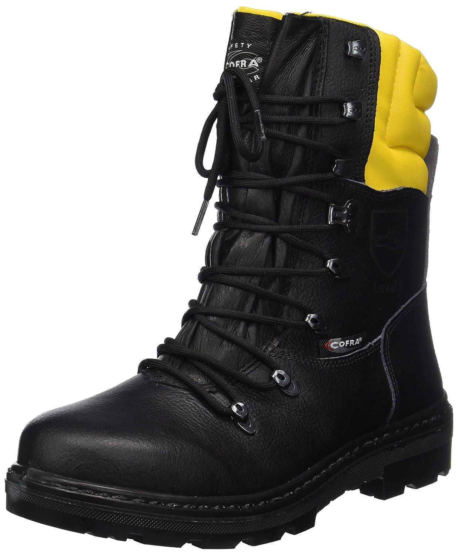 Cofra 25580-000 - Botas resistentes Woodsman Up trabajadores forestales botas cortadas con protección anticorte 40, Negro: Amazon.es: Industria, ...