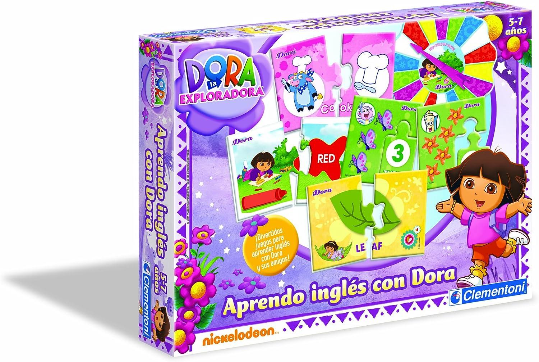Clementoni- Aprendo Inglés con Dora La Exploradora: Amazon.es ...