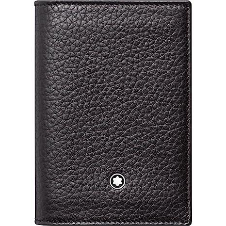 Montblanc Business Card Case Black Black 113310 Amazon
