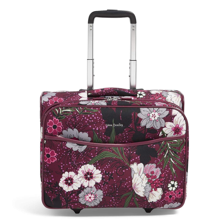 56147004f6bf Amazon.com  Vera Bradley Iconic Rolling Work Bag