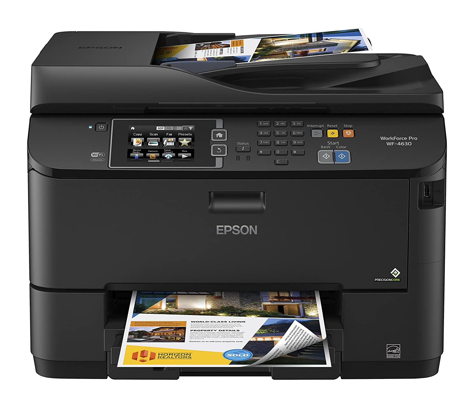 Amazon.com: Epson WorkForce Pro WF-4630 Wireless Color All-in-One Inkjet  Printer with Scanner and Copier, Amazon Dash Replenishment Enabled: WE sale