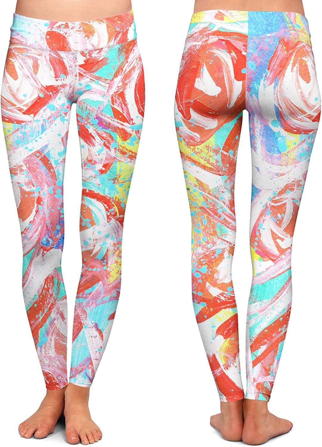 Smarty Pants Athletic Yoga Leggings from DiaNoche Designs by Shay Livenspargar