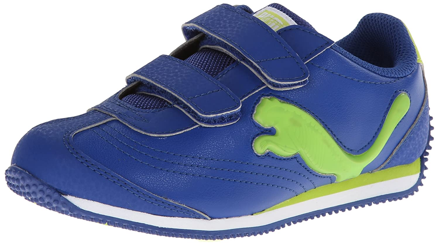 56279c2f196c Puma Speeder Illuminescent V Light up Sneaker (Toddler Little Kid Big Kid)   Amazon.co.uk  Shoes   Bags