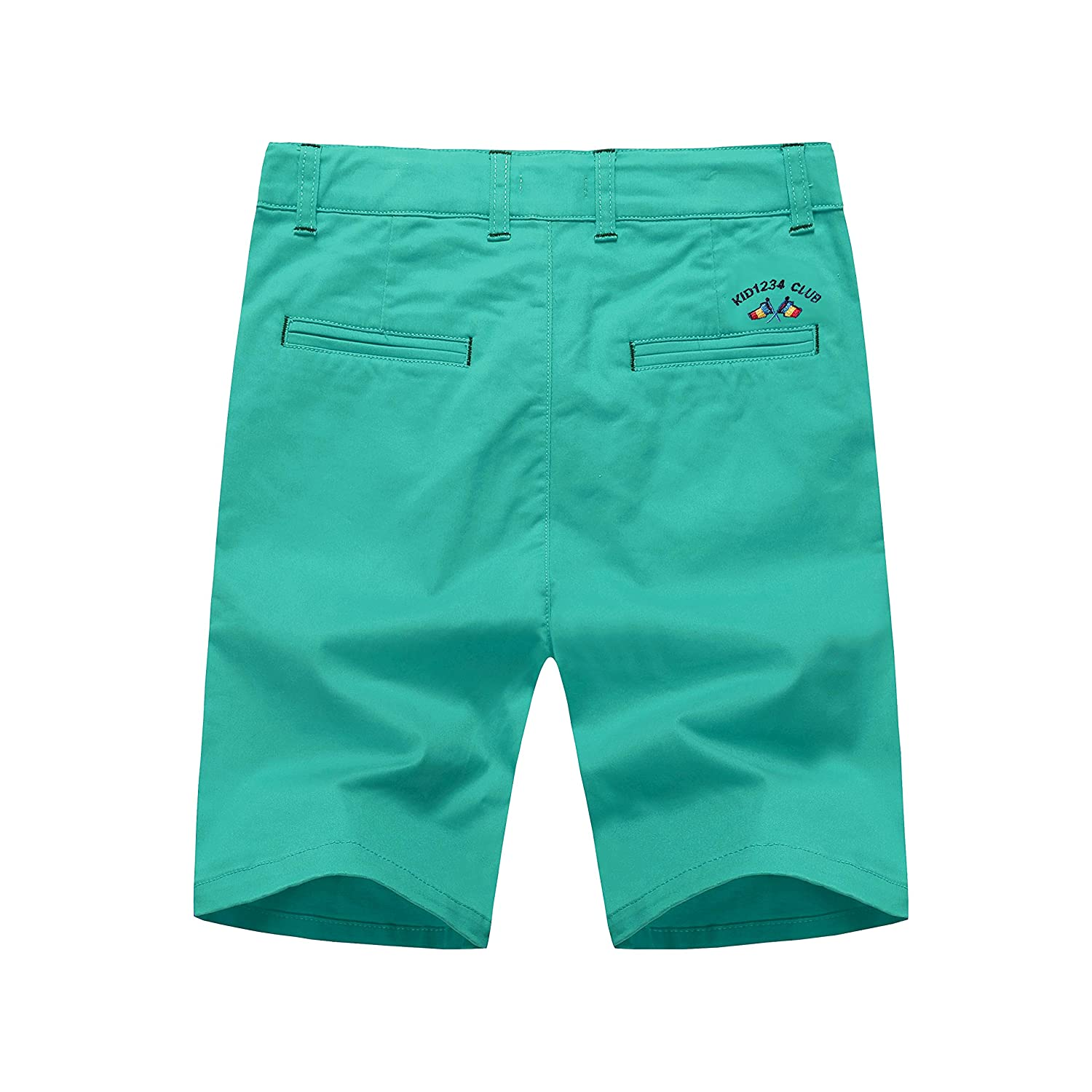 KID1234 Boys Shorts Summer Chino Cotton Shorts Fitted with Adjustable Waist Kids Clothes/…