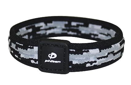 127129117802 Phiten - Pulsera Digital de Titanio de Camuflaje  Amazon.com.mx ...