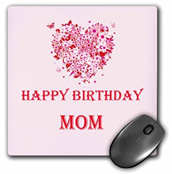 Rinapiro Happy Birthday Happy Birthday Mom Pink Saying Quote