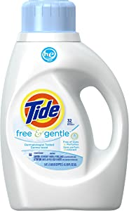 Tide Free & Gentle HE Liquid Detergent - 50 oz