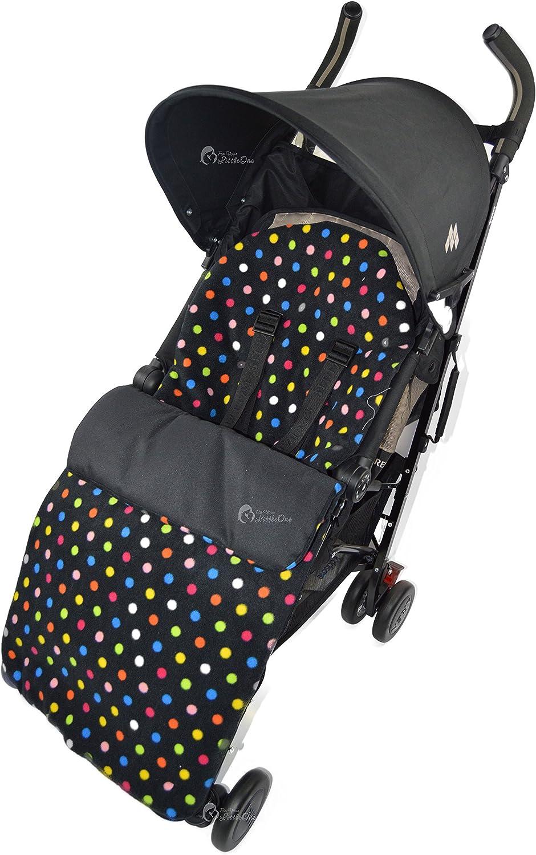 /gris Star Forro polar saco compatible con Maclaren Techno XT 2013/