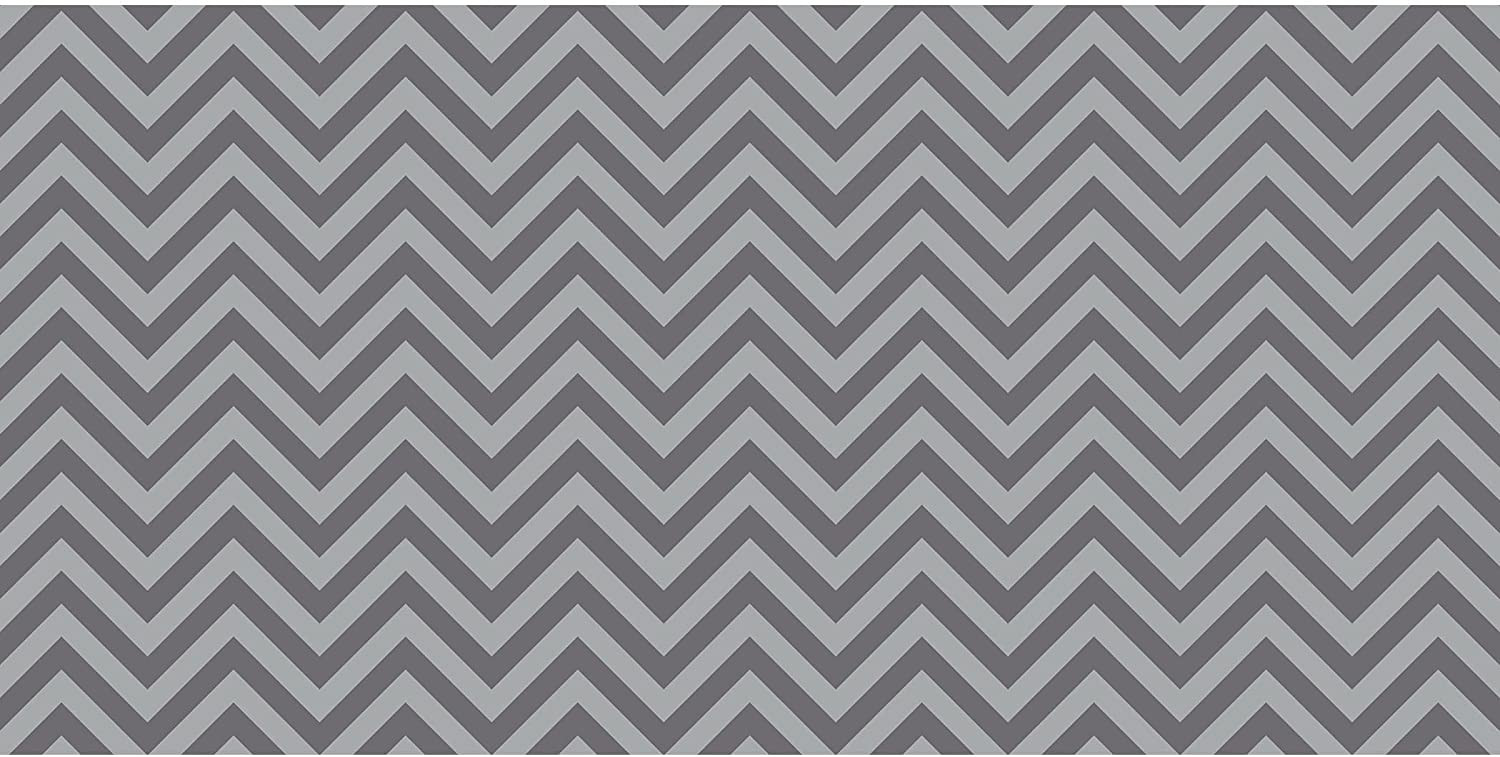 """Pacon PAC55835 Fadeless Design Roll, 48"""" x 50', Chic Chevron Gray : Office Products"""