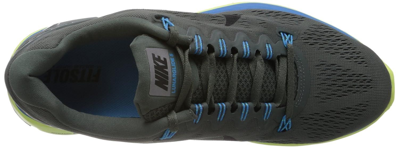 98758c777164e Nike Lunarglide Plus 5 - Dark Grey Vivid Blue - 10
