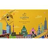 Godiva, Wonderful City Dreams bombones surtidos caja regalo 18 piezas, 195g