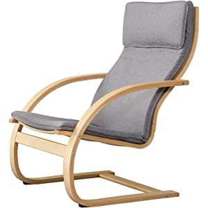 Big Home Shop Trueshopping Ledro Rocking Chair con ...
